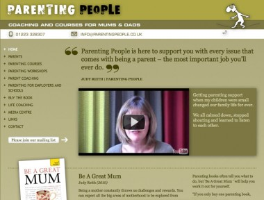 Parenting People website
