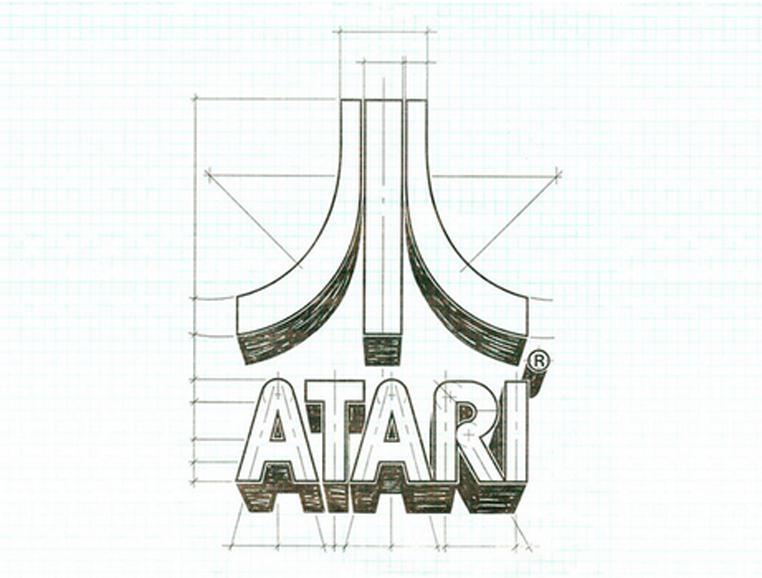 Atari logo schematic - Mono Industries